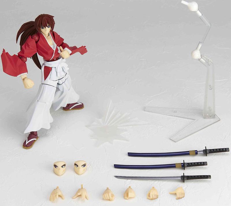Rurouni Kenshin Revoltech Himura Kenshin Action Figure