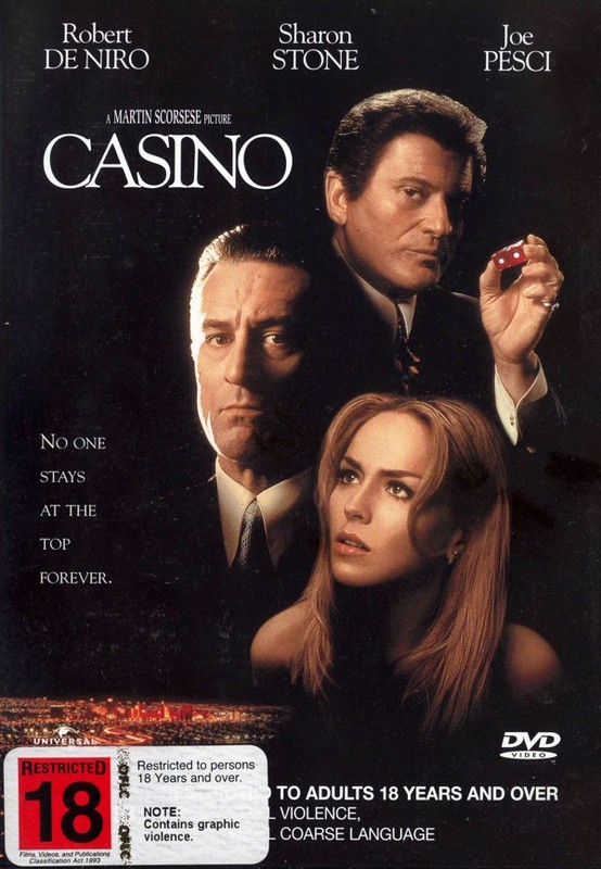 Casino on DVD