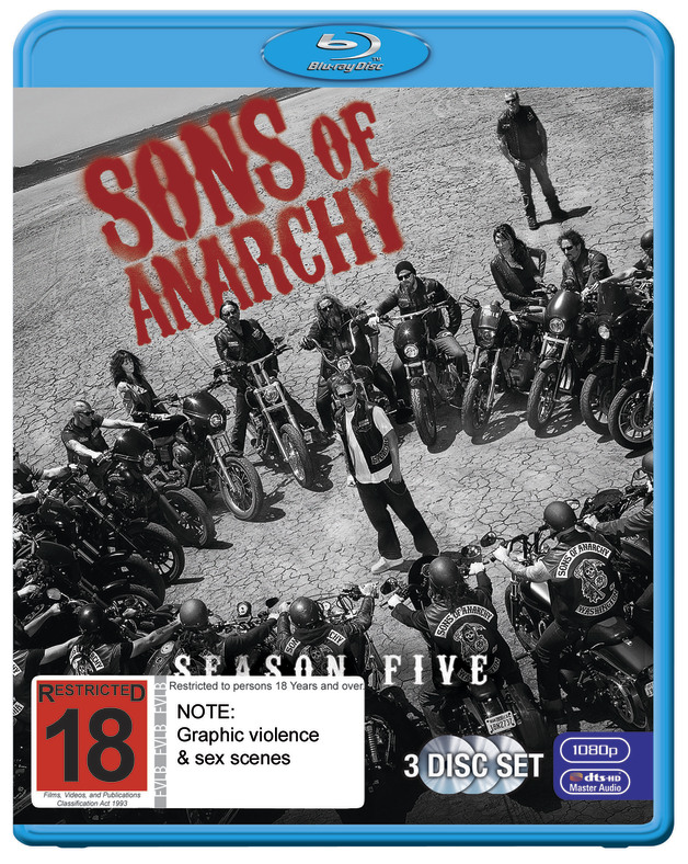 Sons Of Anarchy - The Complete Fifth Season on Blu-ray