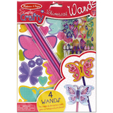 Melissa & Doug: Simply Crafty Whimsical Butterfly Wands