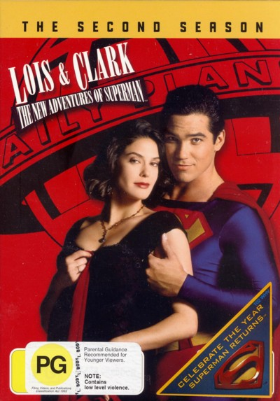 Lois & Clark: The New Adventures of Superman Season 2 (6 Disc Set) on DVD image