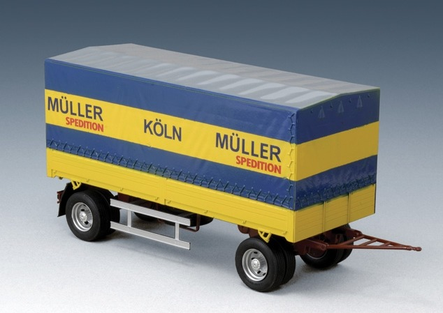 Italeri: 1:24 Canvas Trailer - Model Kit image