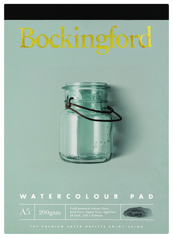Bockingford: A5 200GSM Watercolour Pad - 20 Leaf