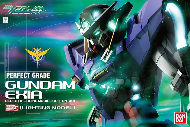 PG 1/60 Gundam Exia (Lighting Model) - Model Kit