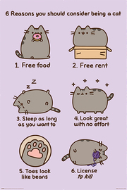Pusheen (Reasons to be a Cat) (708)