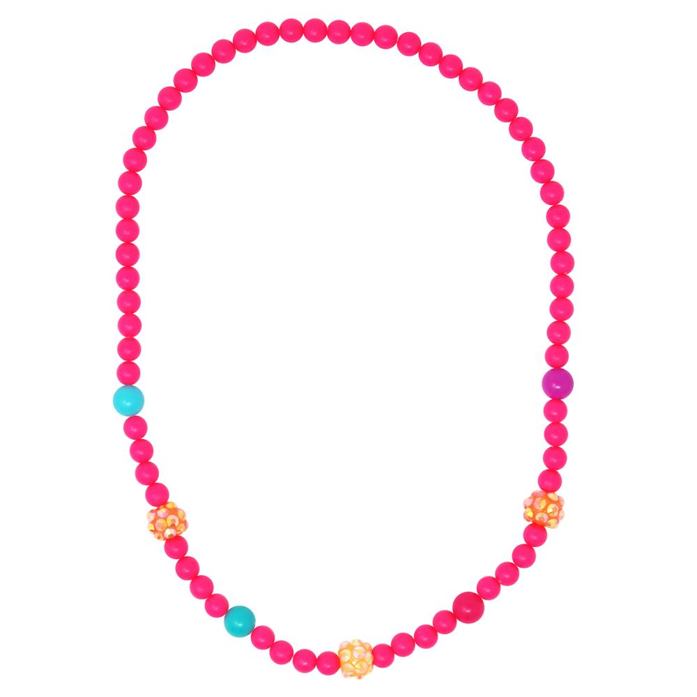 Pink Poppy: Sparkling Beads - Necklace & Bracelet Set (Assorted Colours) image
