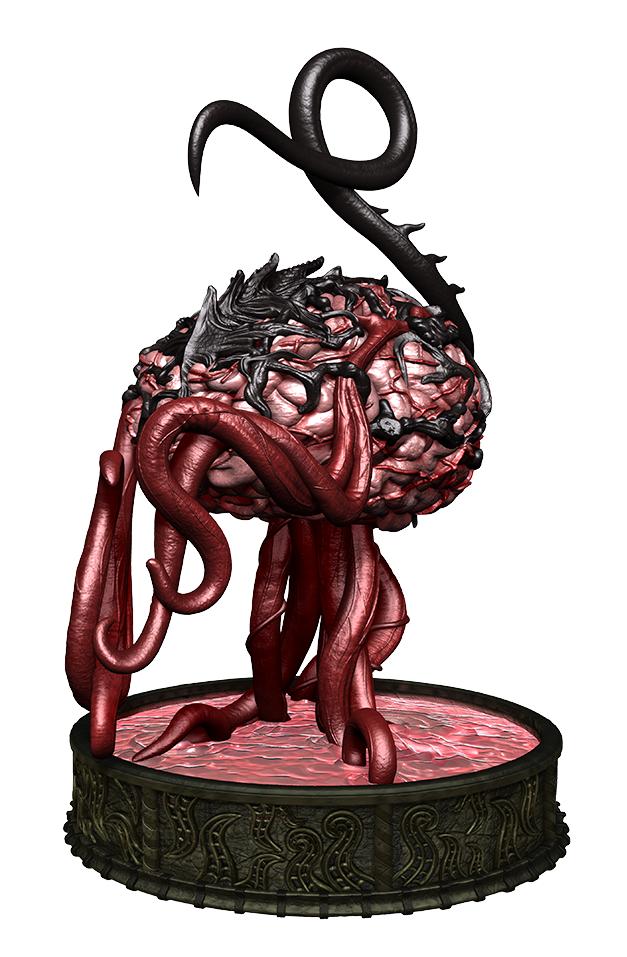 Dungeons & Dragons: Icons of the Realms - Foe Pack: Elder Brain & Stalagmites image