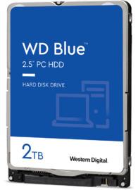 """2TB WD Blue 2.5"""" 5400RPM SATA HDD"""