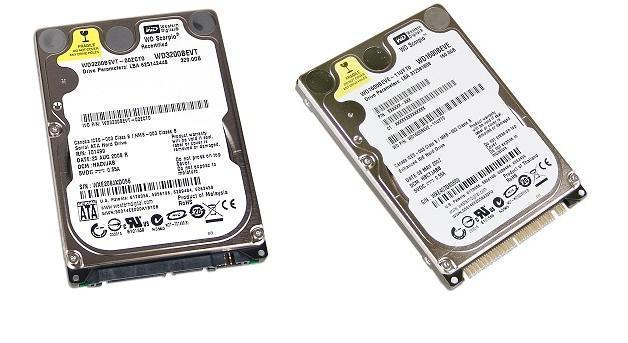 Western Digital Notebook 160GB 2.5INCH IDE HARD DRIVE