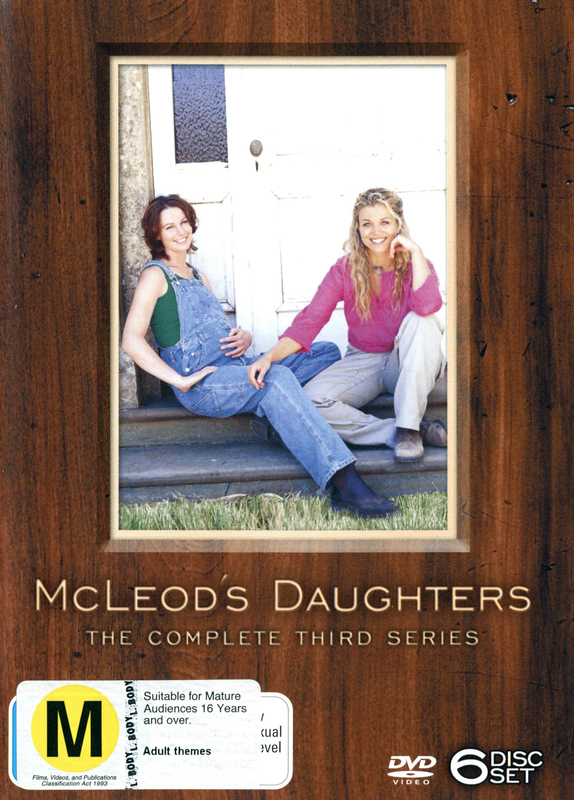 McLeod's Daughters - Complete Season 3 (6 Disc Box Set) on DVD