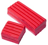EC Colours - 500g Modelling Clay - Red
