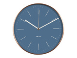 Karlsson Wall Clock - Minimal (Blue)