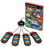 Buzz! Junior Robojam with buzzers for PlayStation 2