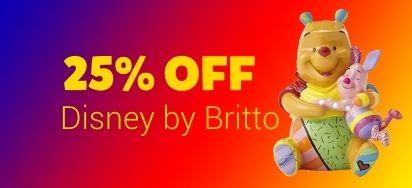 25% OFF Romero Britto Disney Figures!