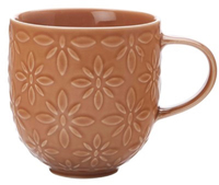 Casa Domani Pavia Mug Textured 400ml Orange