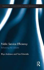 Public Service Efficiency by Rhys Andrews