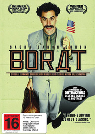 Borat on DVD image