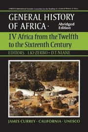 UNESCO General History of Africa: v. 4 by UNESCO image