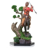 Black Panther: 1/10 Okoye - Battle Diorama Statue