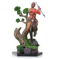 Black Panther: 1/10 Okoye - Battle Diorama Statue