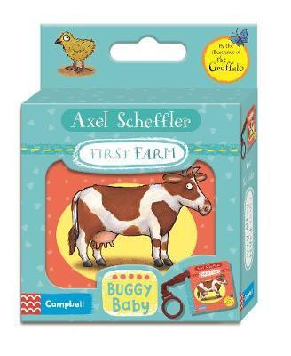 Axel Scheffler First Farm Buggy Book by Axel Scheffler