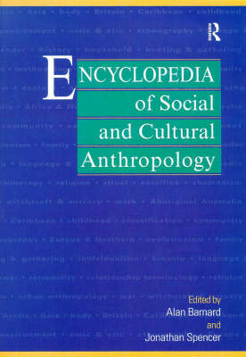 Encyclopedia of Social and Cultural Anthropology image