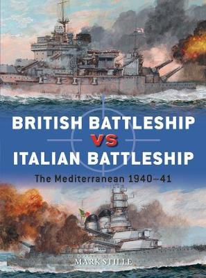 British Battleship vs Italian Battleship by Mark Stille