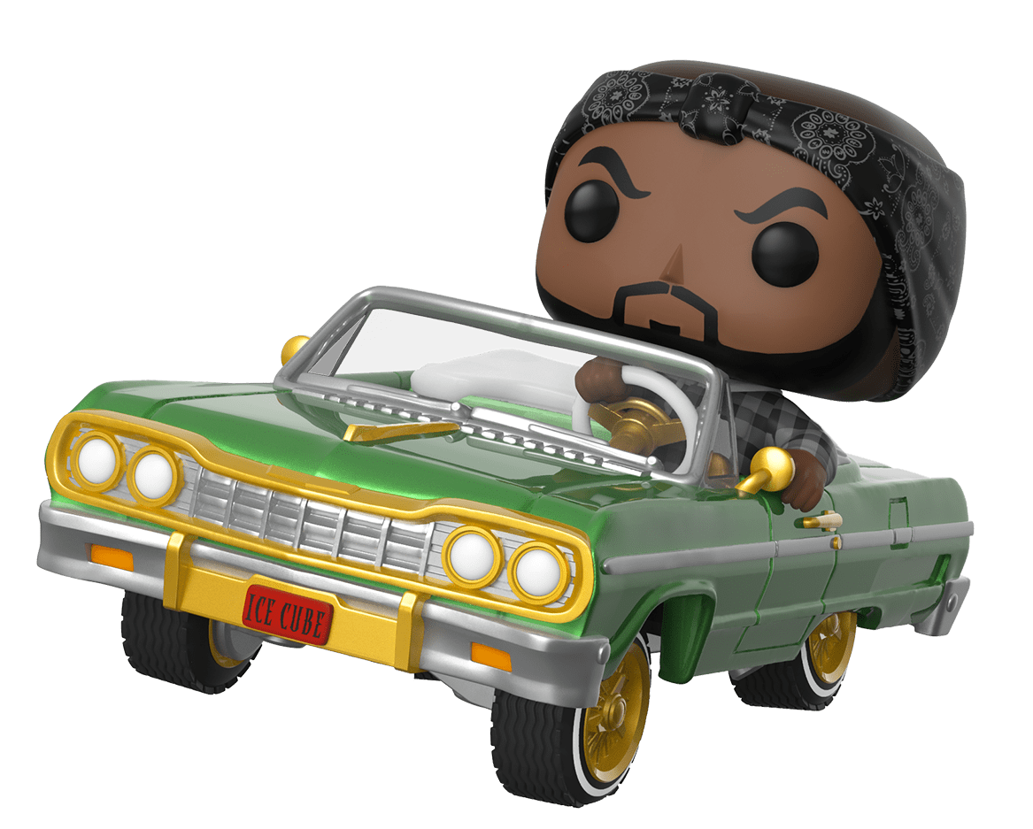 Ice Cube & Chevy Impala - Pop! Ride Figure image