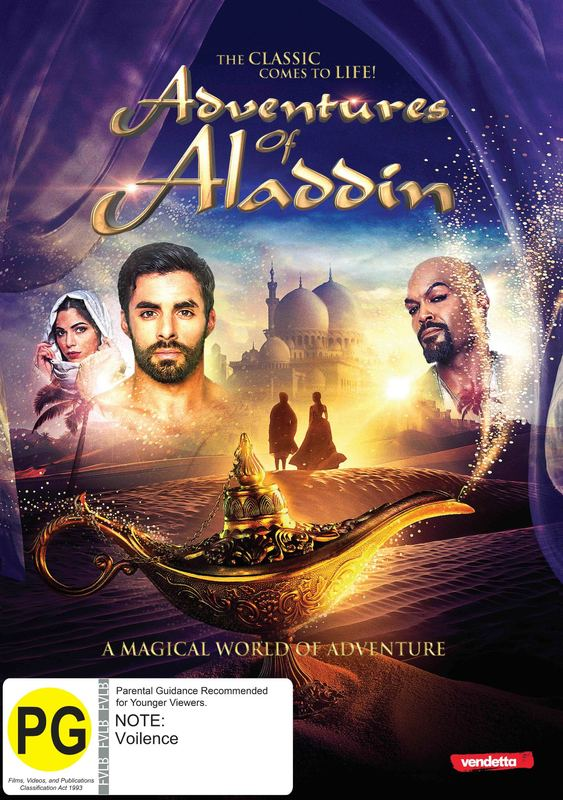 The Adventures of Aladdin on DVD