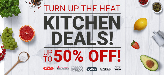 Kitchen Deals - Up to 50% off!