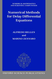 Numerical Methods for Delay Differential Equations by Alfredo Bellen image