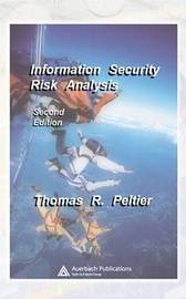 Information Security Risk Analysis by Thomas R Peltier image