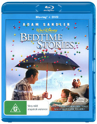 Bedtime Stories on DVD, Blu-ray