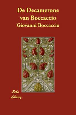 De Decamerone Van Boccaccio by Giovanni Boccaccio