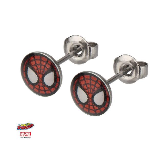 Marvel: Spider-Man Symbol Stud Earrings