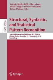Structural, Syntactic, and Statistical Pattern Recognition image