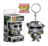 Fallout - Power Armor Pocket Pop! Key Chain