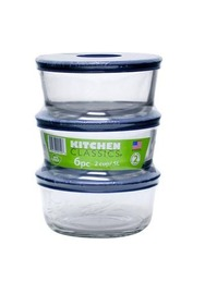 Round Containers With Lids - 6 Piece Value Pack (2 Cup)