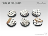 Tabletop-Art: Ruins of Sanctuary Base - (25mm)