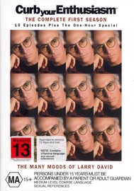 Curb Your Enthusiasm - Complete Season 1 (3 Disc Set) on DVD image