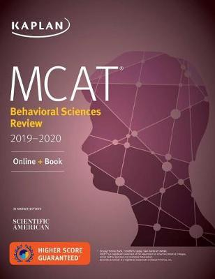 MCAT Behavioral Sciences Review 2019-2020 by Kaplan Test Prep image