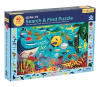 Mudpuppy: Search & Find Puzzle - Ocean Life