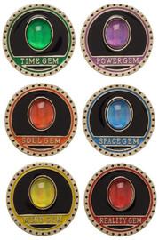 Marvel: Infinity Gauntlet - Lapel Pin Set (Set of 6)