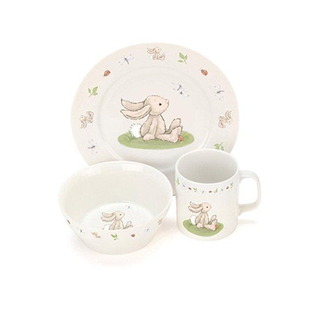 Jellycat: Bashful Bunny China Dinner Set