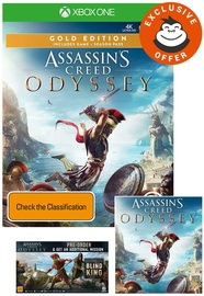 Assassin's Creed Odyssey Gold Edition for Xbox One
