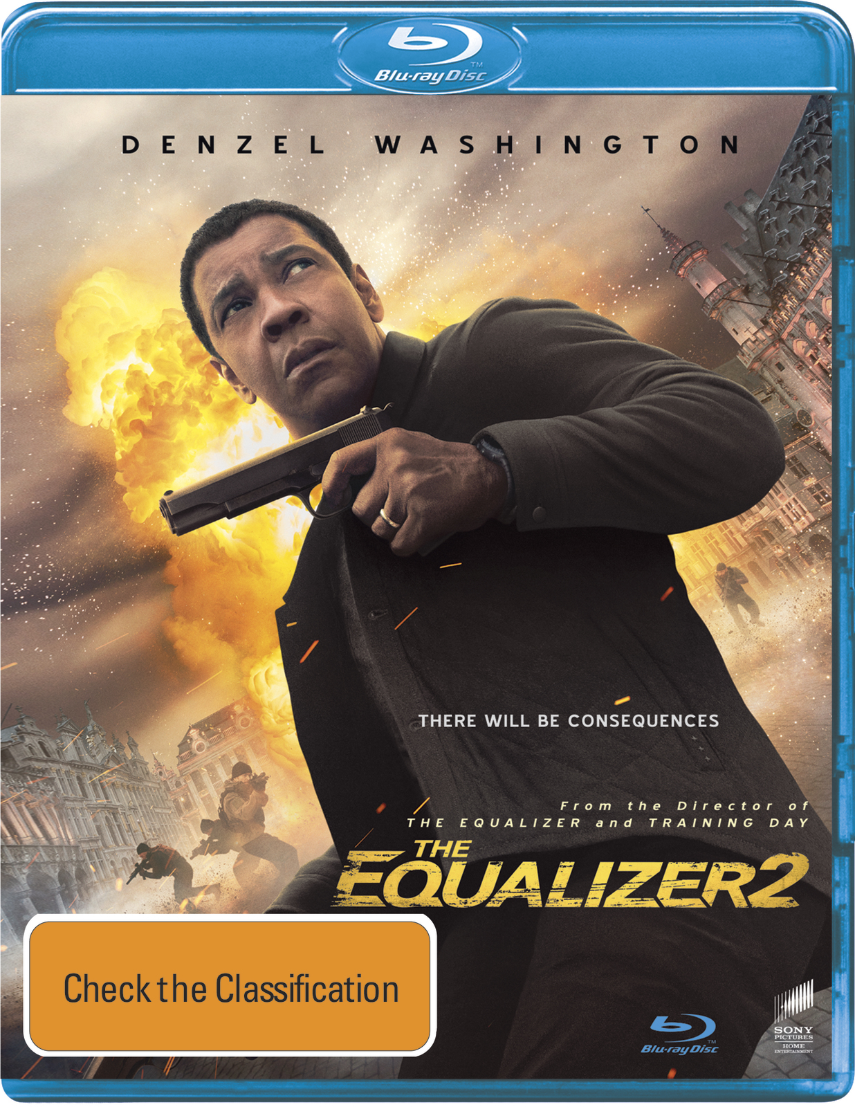 The Equalizer 2 on Blu-ray image