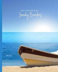 Sandy Beaches Undated 3-Month Planner Organizer by It's about Time