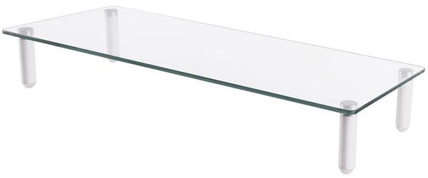 Digitus Ergonomic Tabletop Glass Monitor Riser