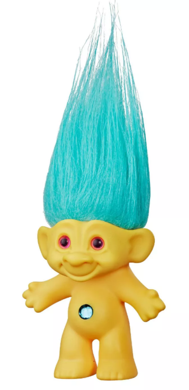 "Trolls: 60th Anniversary - 6"" Retro Doll (Good Luck Yellow)"