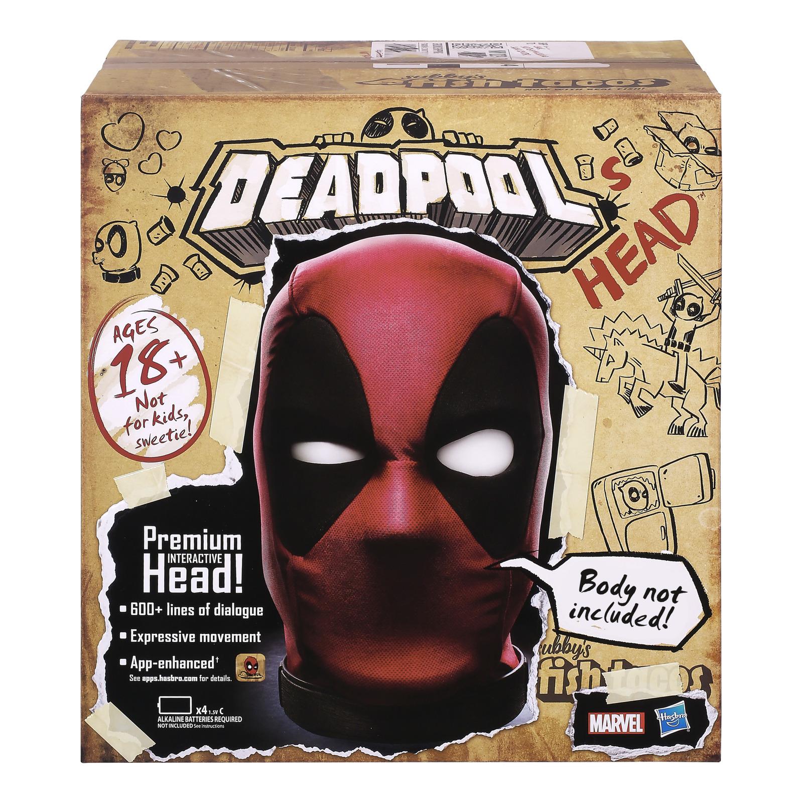 Marvel Legends: Deadpool's Head - Premium Interactive Replica image